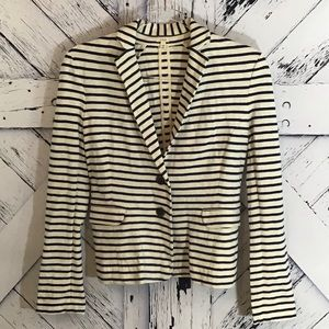 J. Crew Striped Jacket Excellent Condition